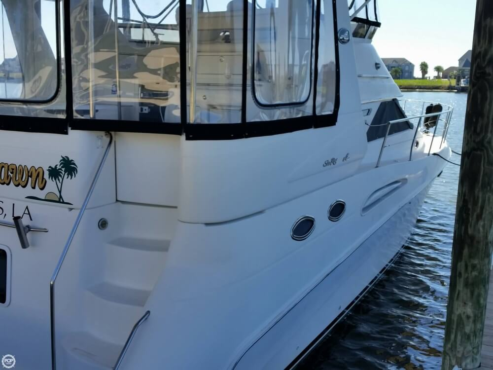 1999 Sea Ray boat for sale, model of the boat is 420 Aft Cabin & Image # 3 of 40
