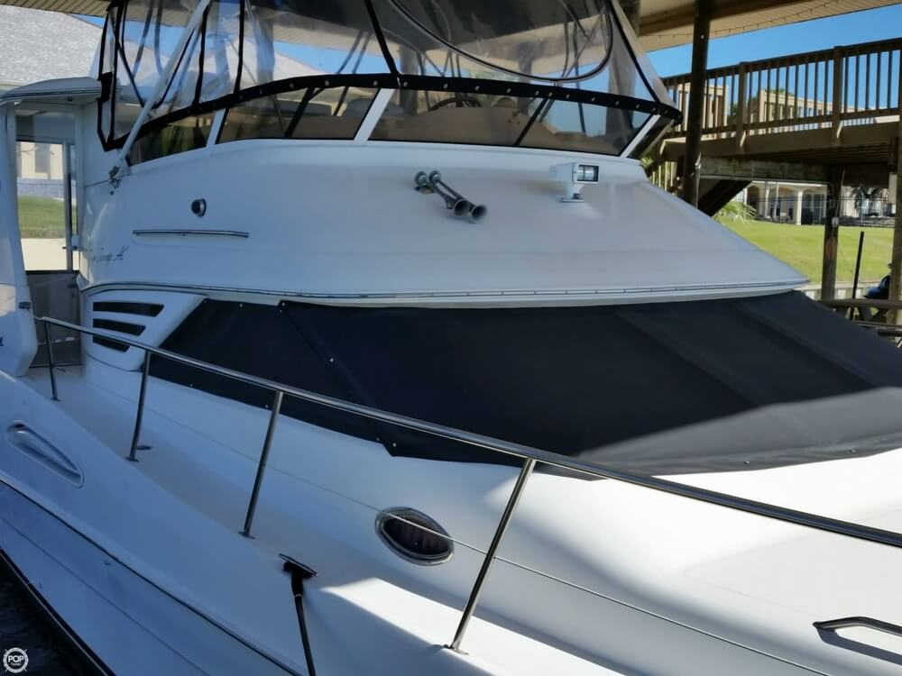1999 Sea Ray boat for sale, model of the boat is 420 Aft Cabin & Image # 17 of 40