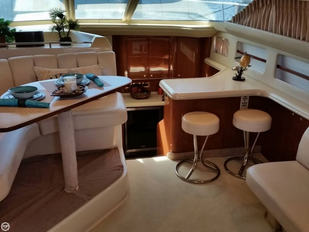 1999 Sea Ray boat for sale, model of the boat is 420 Aft Cabin & Image # 8 of 40