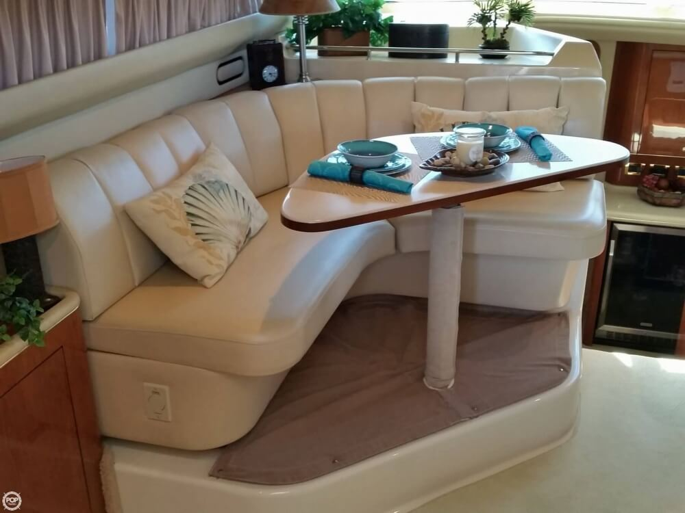 1999 Sea Ray boat for sale, model of the boat is 420 Aft Cabin & Image # 9 of 40