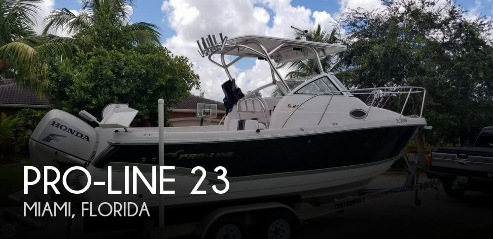 Used Pro-Line Boats For Sale in Florida by owner | 2008 Pro-Line 23