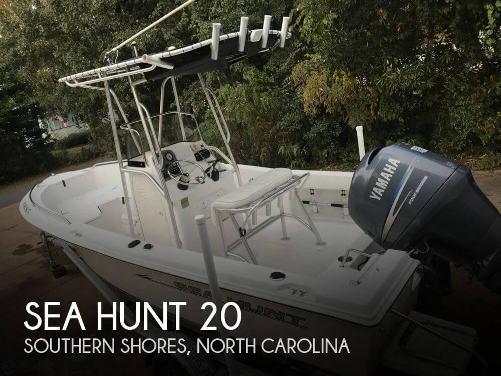 Used Sea Hunt Boats For Sale in North Carolina by owner | 2007 Sea Hunt 20