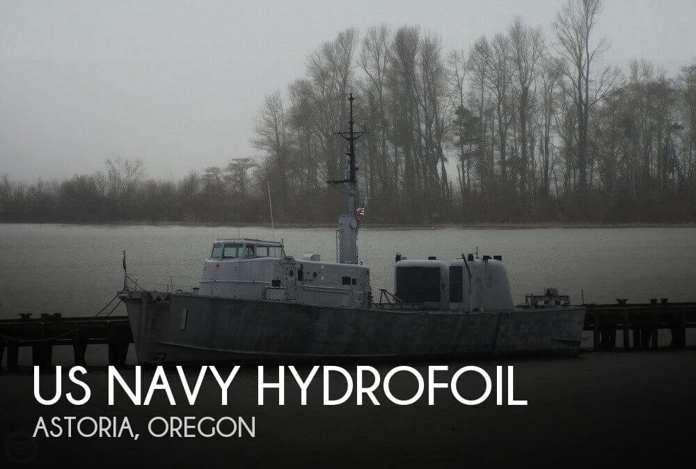 Used Boats For Sale in Portland, Oregon by owner | 1962 US Navy Hydrofoil 115