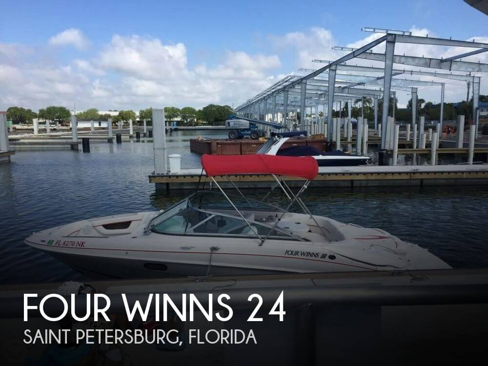 Used Four Winns Boats For Sale in Florida by owner | 2007 Four Winns 24