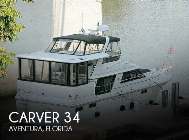 Used Carver 34 Boats For Sale by owner | 1990 Carver 34