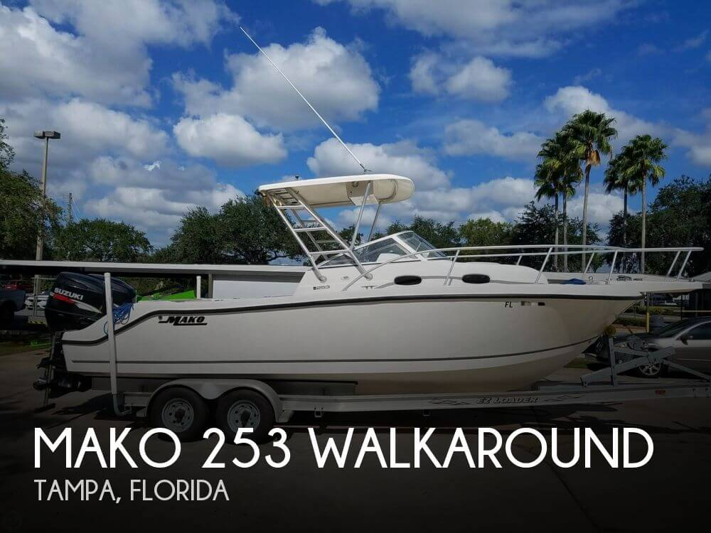 Used MAKO Boats For Sale by owner | 2006 Mako 253 Walkaround