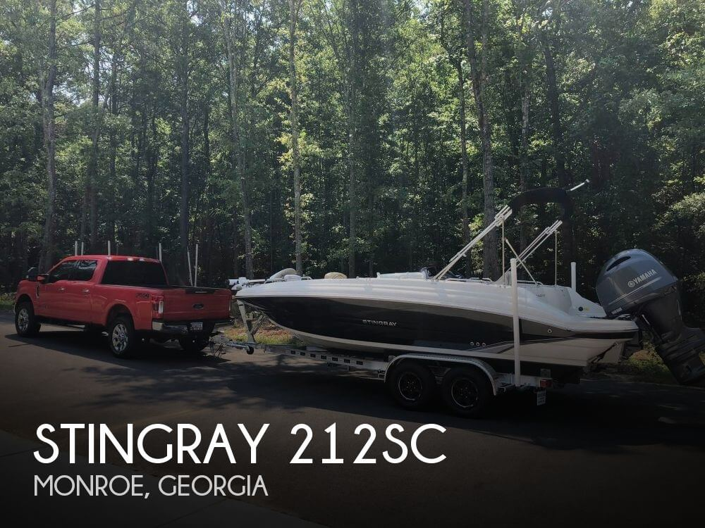 Used Deck Boats For Sale by owner | 2018 Stingray 22