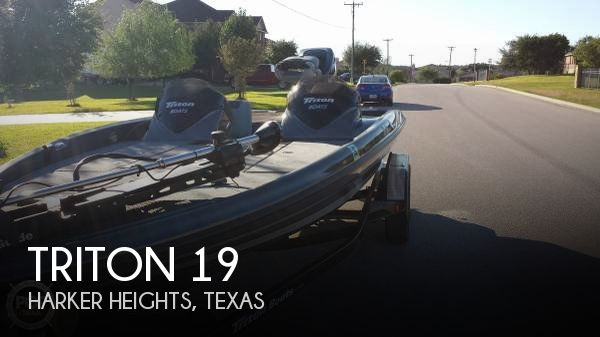 Used Boats For Sale in Waco, Texas by owner | 2012 Triton 19