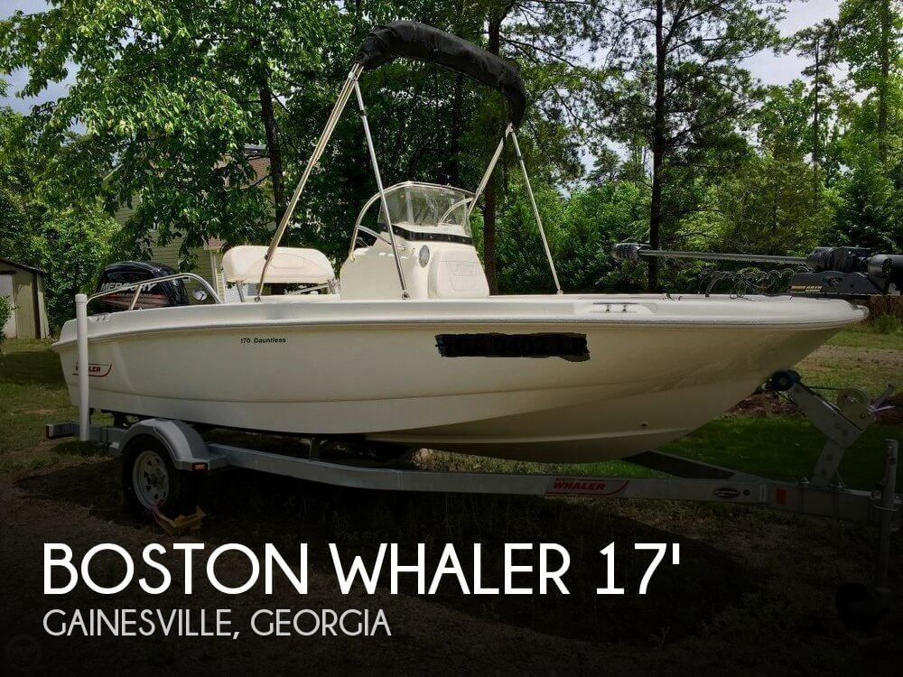 Used Boston Whaler 17 Boats For Sale by owner | 2015 Boston Whaler 170 Dauttless