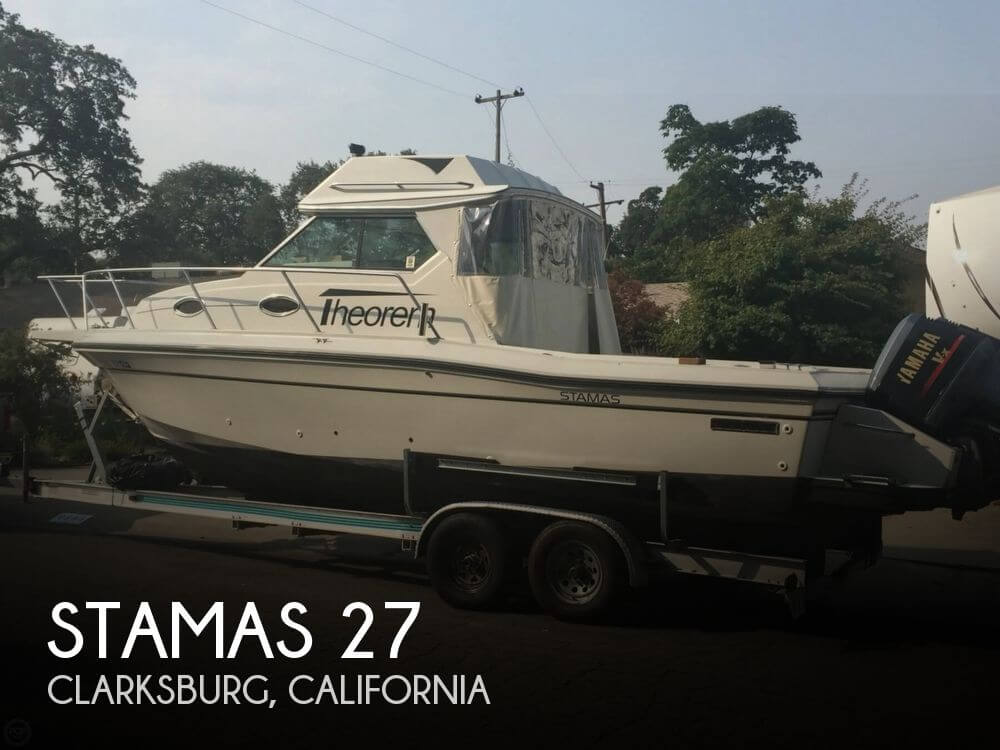 Used Stamas Boats For Sale by owner | 1989 Stamas 27