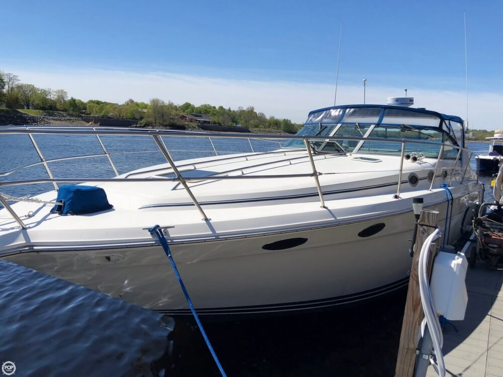 1994 Sea Ray boat for sale, model of the boat is 37 Express Cruiser & Image # 2 of 33