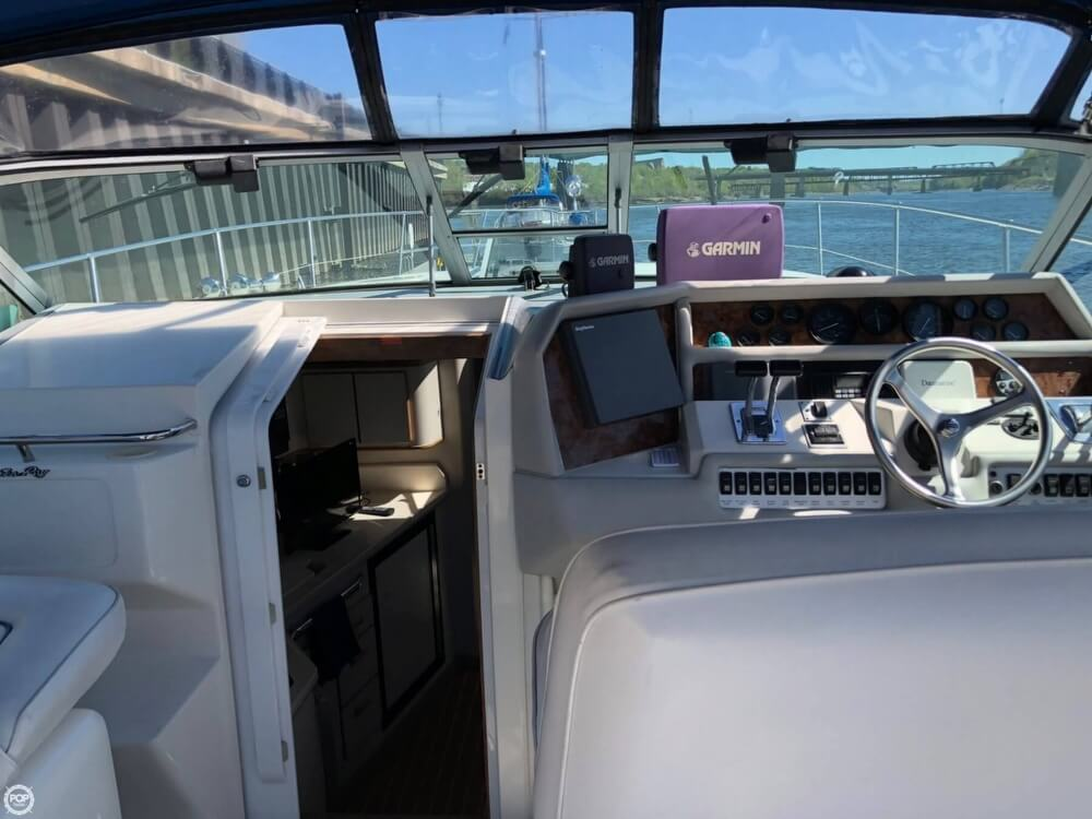 1994 Sea Ray boat for sale, model of the boat is 37 Express Cruiser & Image # 5 of 33
