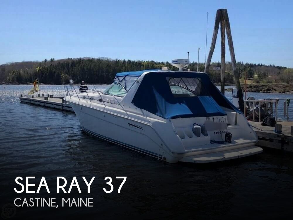 1994 Sea Ray boat for sale, model of the boat is 37 Express Cruiser & Image # 1 of 33