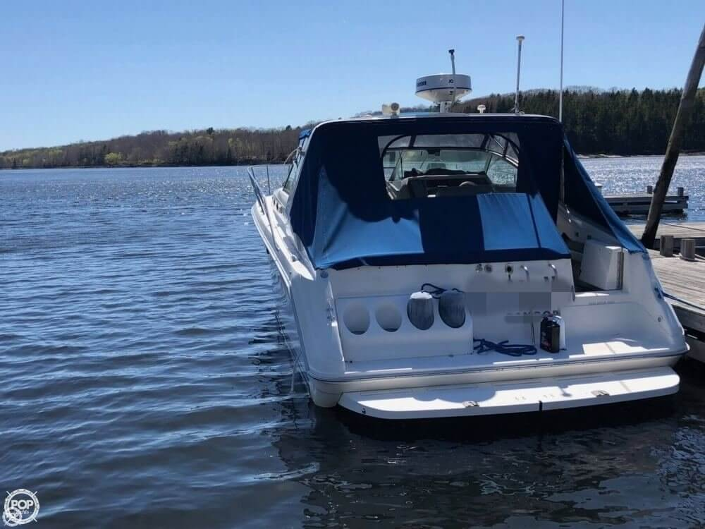1994 Sea Ray boat for sale, model of the boat is 37 Express Cruiser & Image # 7 of 33