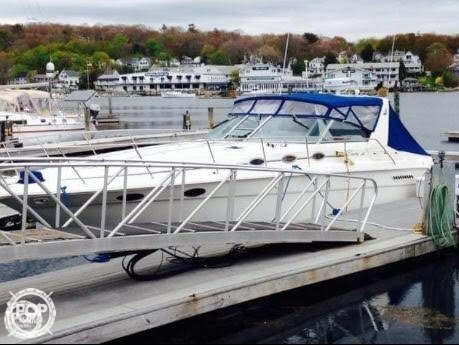 1994 Sea Ray boat for sale, model of the boat is 37 Express Cruiser & Image # 9 of 33