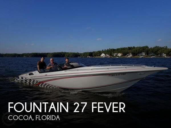 Used Boats For Sale in Durham, North Carolina by owner | 2000 Fountain 27