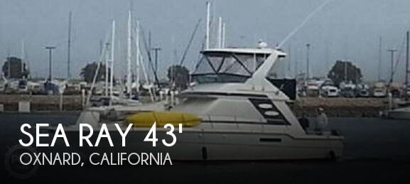 Used Fishing boats For Sale in California by owner | 1988 Sea Ray 42
