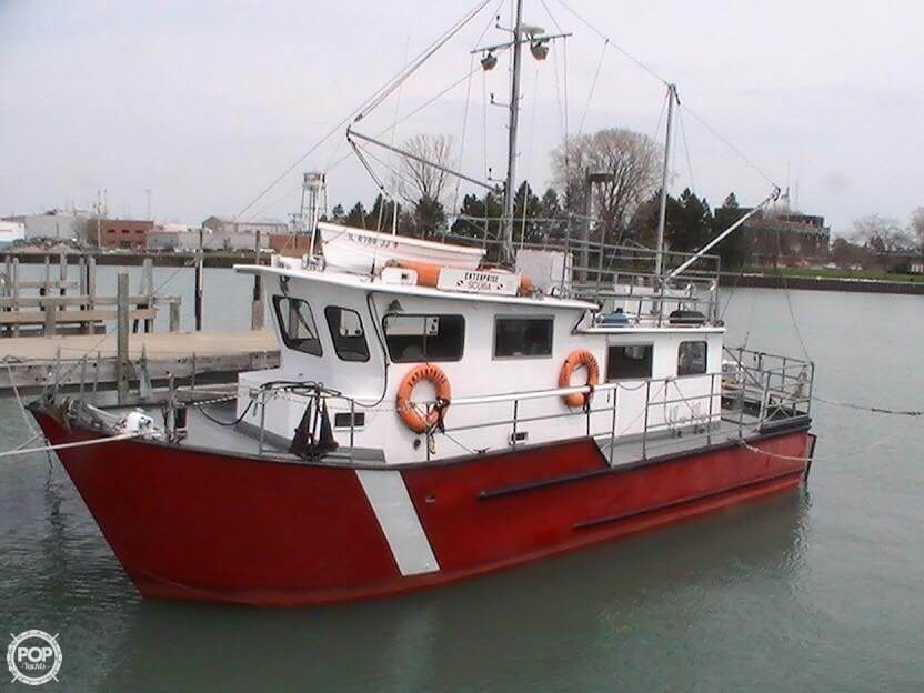 1977 Martin 40 Dive Trawler For Sale