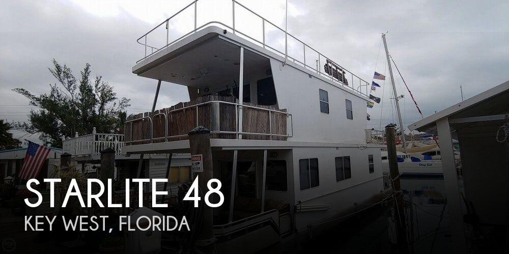 Used Houseboats For Sale by owner | 2005 Starlite 48