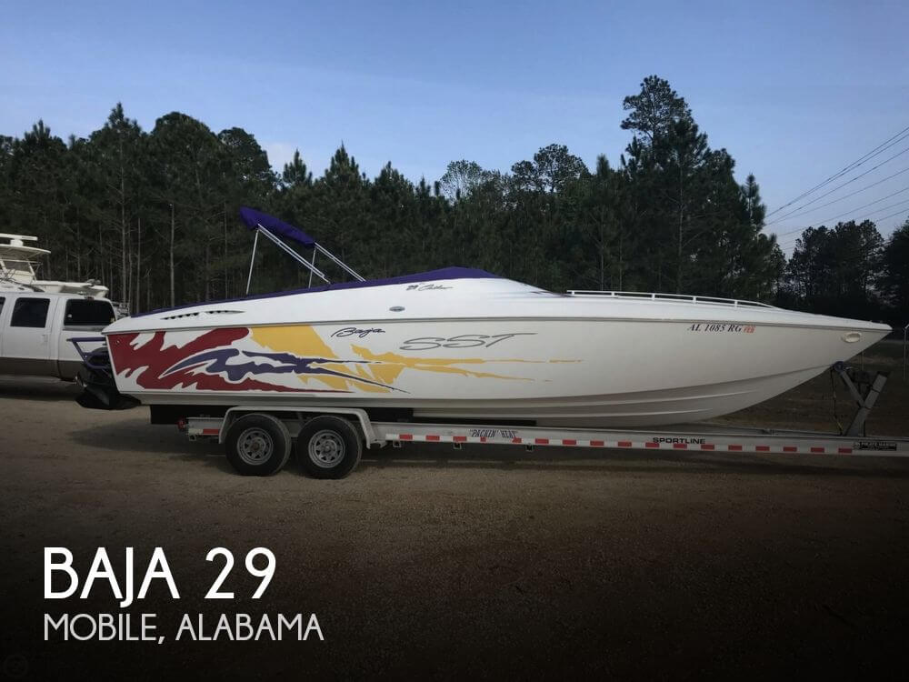 Used Baja Boats For Sale by owner   2002 Baja 29