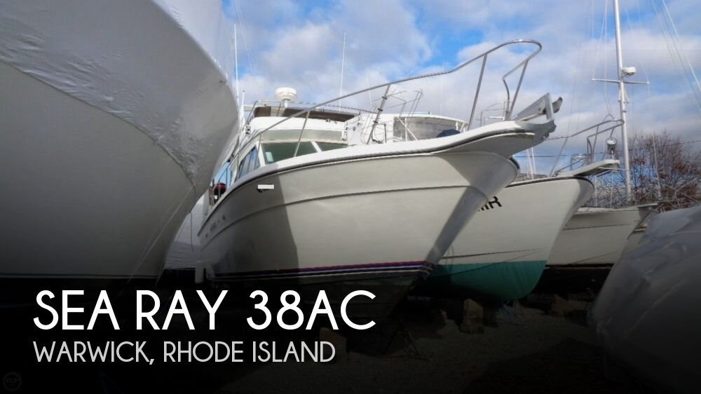 1989 Sea Ray boat for sale, model of the boat is 38AC & Image # 1 of 40
