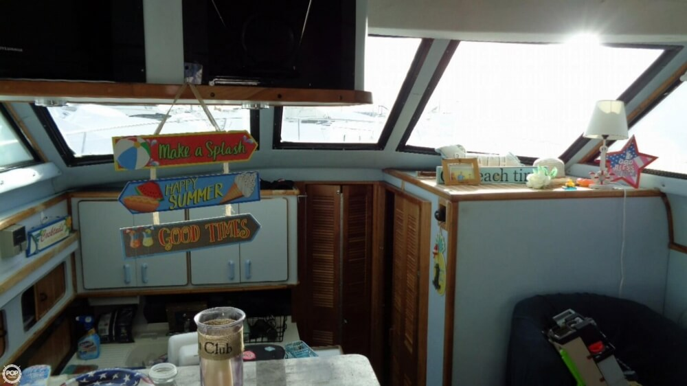 1989 Sea Ray boat for sale, model of the boat is 38AC & Image # 34 of 40