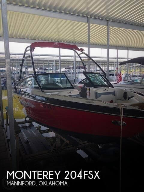 Used Boats For Sale in Tulsa, Oklahoma by owner   2013 Monterey 21