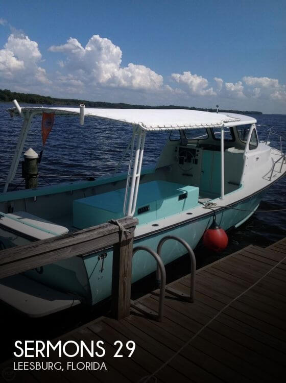 Used Sermons Boats For Sale by owner | 1985 Sermons 29