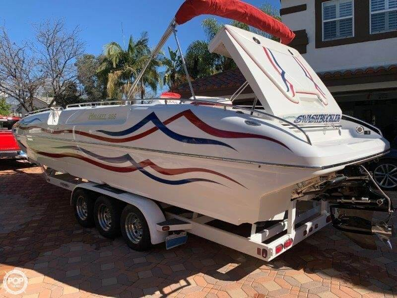2006 Hallett boat for sale, model of the boat is 285 Party Cruiser & Image # 6 of 40