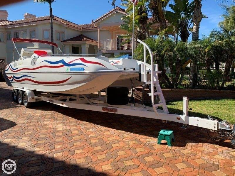 2006 Hallett boat for sale, model of the boat is 285 Party Cruiser & Image # 8 of 40