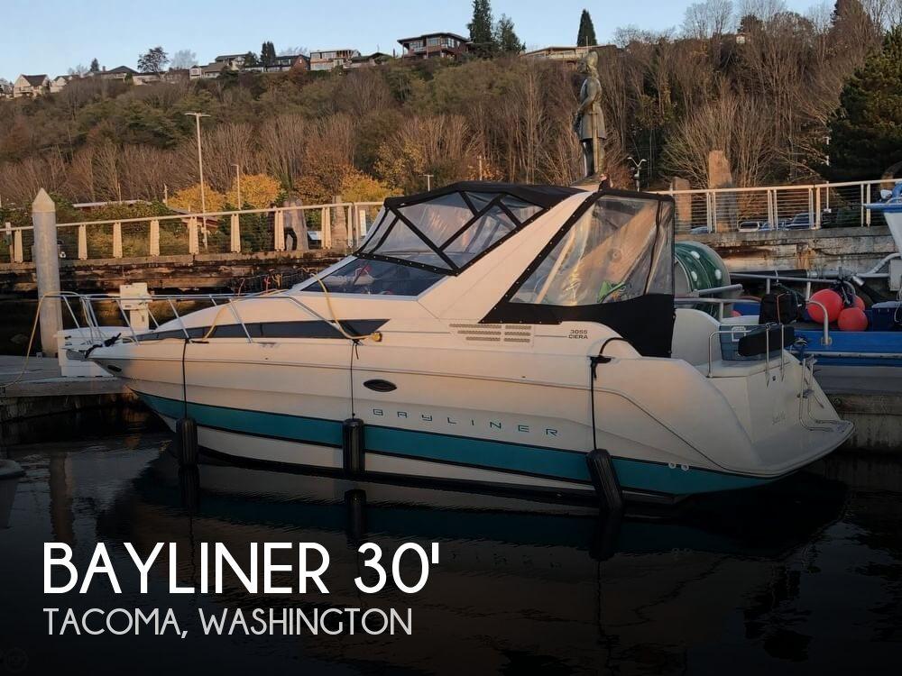 Used Bayliner Boats For Sale in Washington by owner | 1993 Bayliner 3055 Ciera Sunbridge