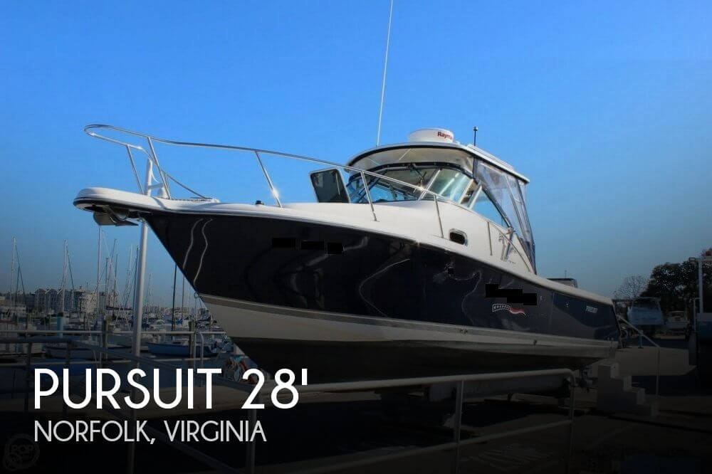 Used Boats For Sale in Virginia by owner | 2009 Pursuit 30