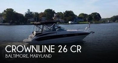 Used Crownline Boats For Sale in Lancaster, Pennsylvania by owner | 2012 Crownline 26
