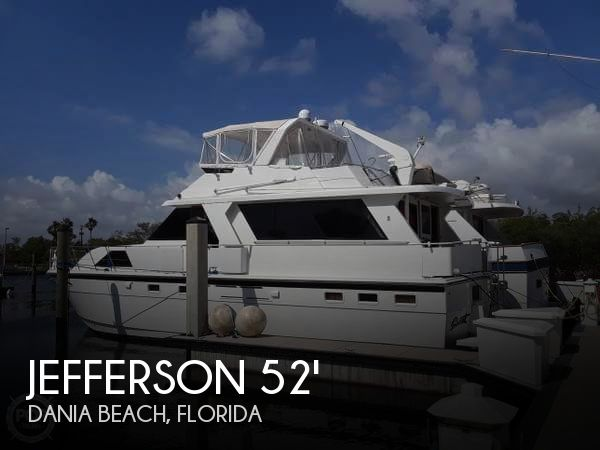 Used Jefferson Boats For Sale by owner | 1989 Jefferson 52
