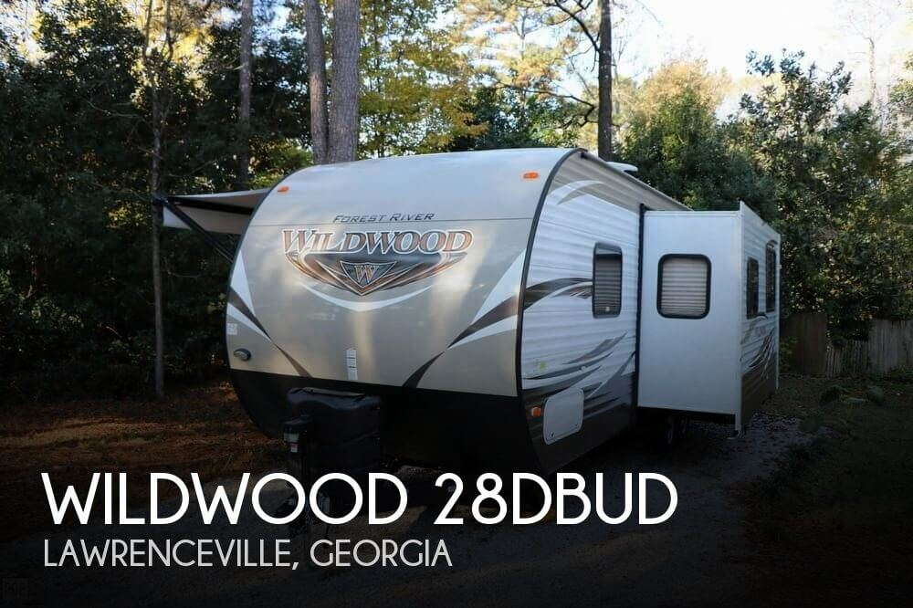 2018 Forest River Wildwood 28DBUD