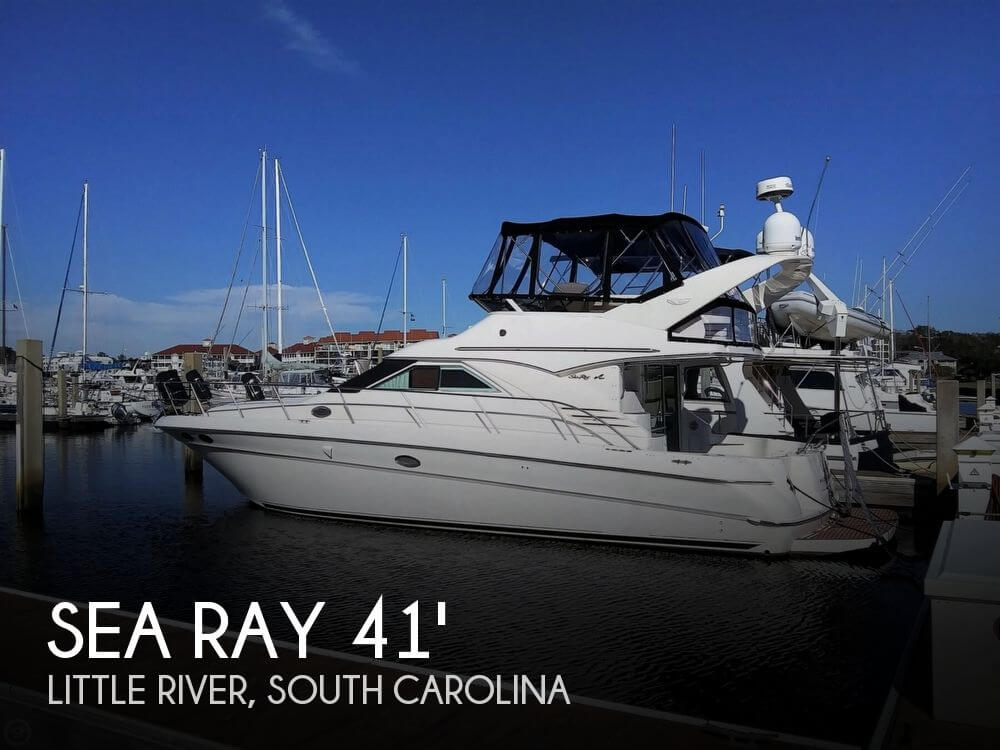 Used Boats For Sale in Wilmington, North Carolina by owner | 1998 Sea Ray 400 Sedan Bridge