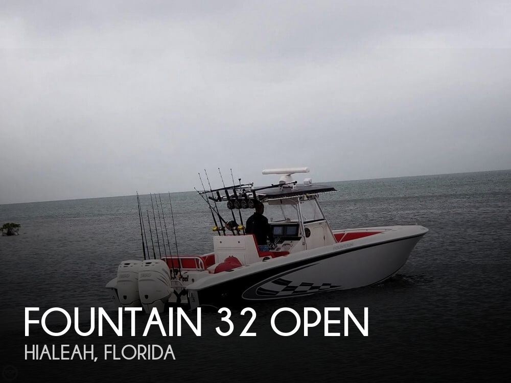 Used Fountain Boats For Sale by owner | 2005 Fountain 32