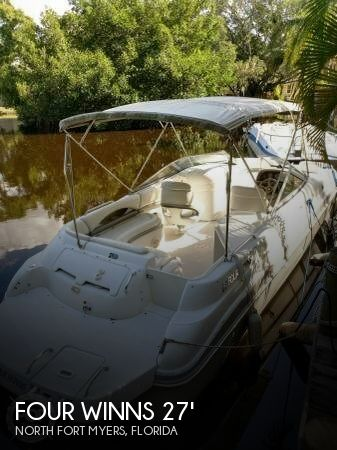 Used Four Winns Boats For Sale in Florida by owner | 2002 Four Winns 26