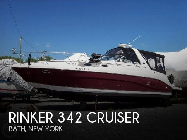 Used Rinker Power boats For Sale by owner | 2006 Rinker 342 Cruiser