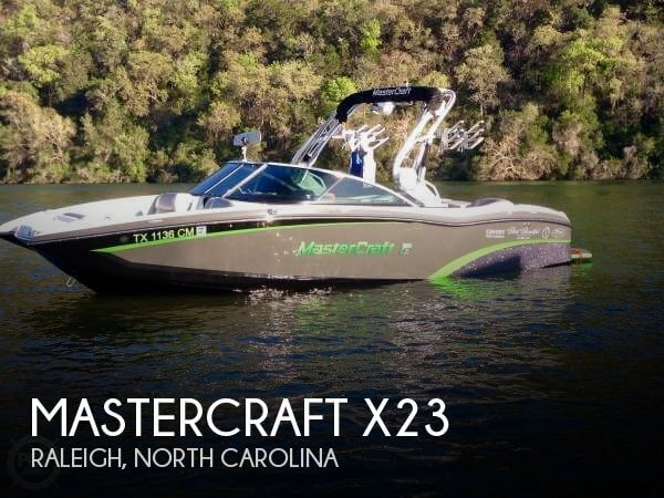 Used Power boats For Sale in North Carolina by owner | 2015 Mastercraft 23