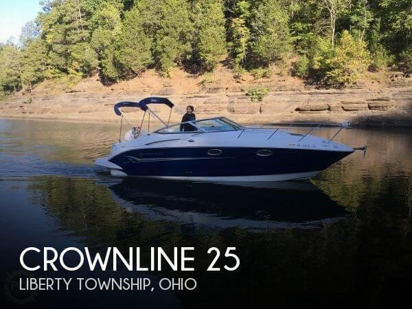 Used Boats For Sale in Dayton, Ohio by owner | 2004 Crownline 25