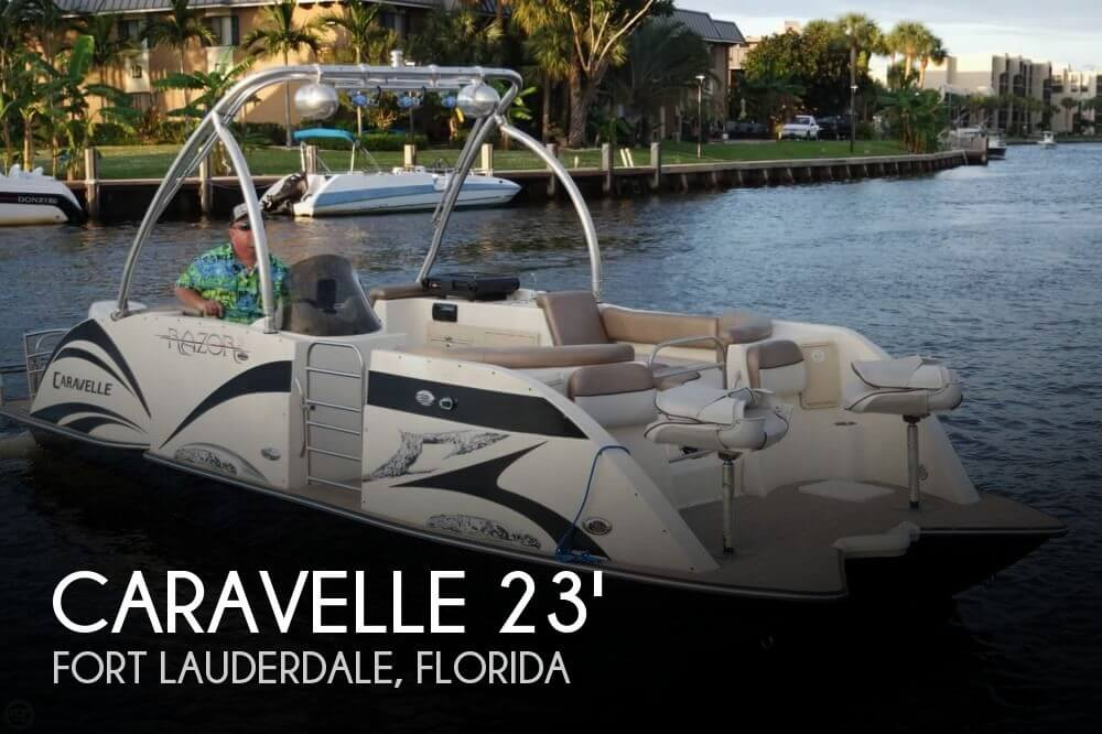 Used Pontoon Boats For Sale in Florida by owner | 2015 Caravelle 236 FSP