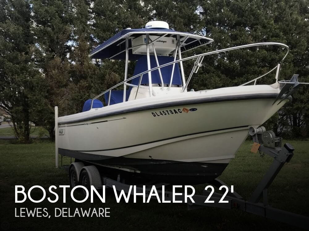 Used Boats For Sale in Delaware by owner | 2002 Boston Whaler 22