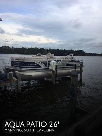 Used Aqua Patio Boats For Sale by owner   2013 Aqua Patio 26