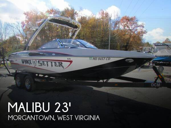 Used Boats For Sale in West Virginia by owner | 2012 Malibu 23