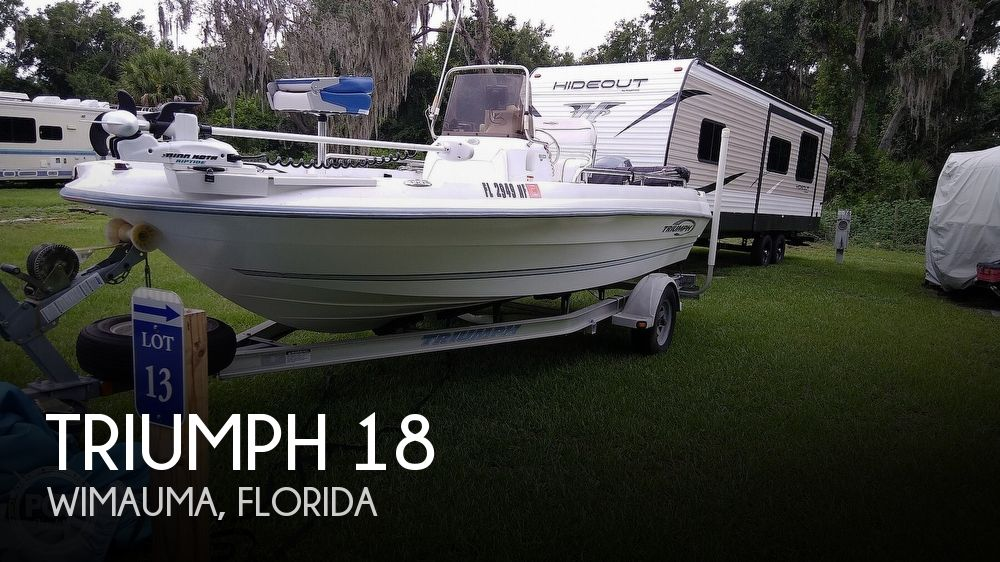 Used Triumph Boats For Sale by owner | 2006 Triumph 18