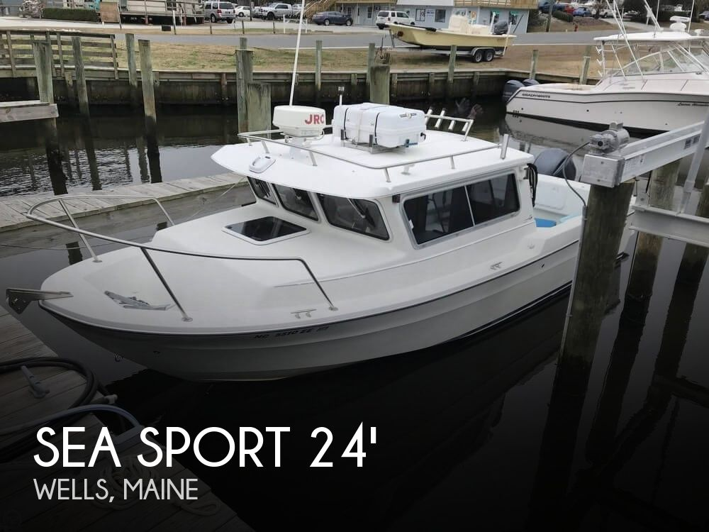 2004 Seasport boat for sale, model of the boat is 2400 XL 2015 twin Yamahas (low hours) & Image # 1 of 40