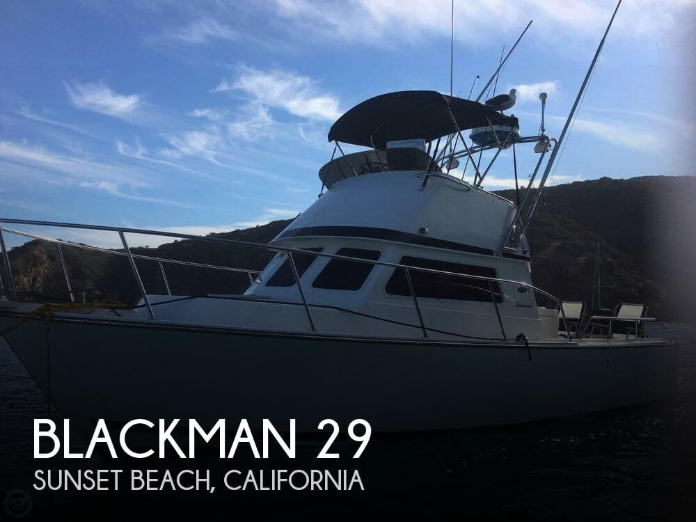 Used Fishing boats For Sale in California by owner | 2005 Blackman 29