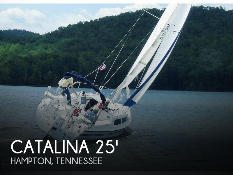 Used Boats For Sale in Johnson City, Tennessee by owner | 2004 Catalina 25