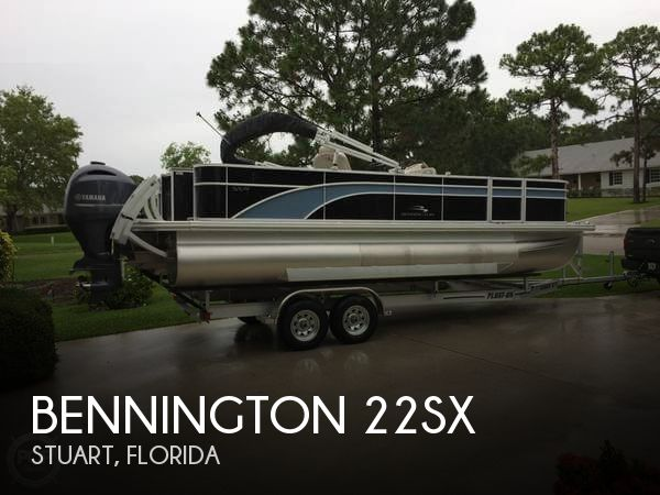 Used Pontoon Boats For Sale in Florida by owner | 2018 Bennington 21